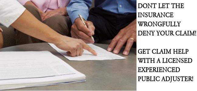 Florida Public Adjuster Get Insurance Claim Help