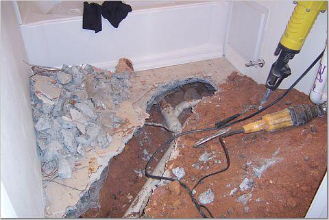 Slab Leaks Water Damage Pipeslableak Get Insurance